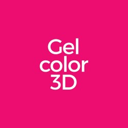 Gel color 3D