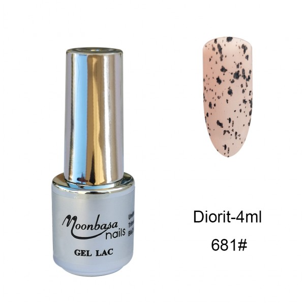 Gel Lac Diorit Moonbasa 4ml-681#Coral Oja Semipermanenta-Gel Lac Diorit Moonbasa 4ml
