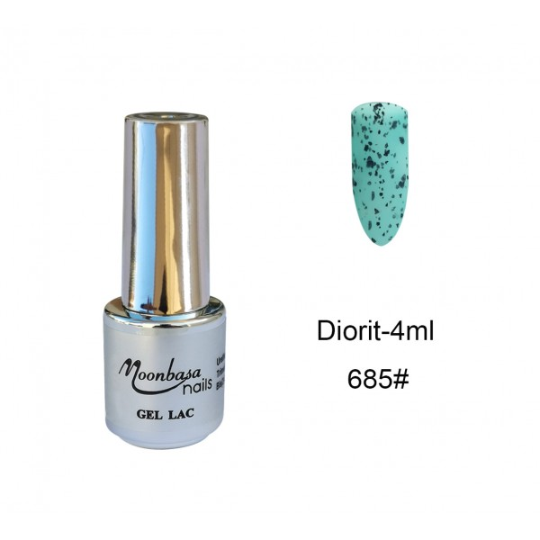 Gel Lac Diorit Moonbasa 4ml-685#Green Oja Semipermanenta-Gel Lac Diorit Moonbasa 4ml